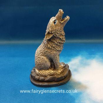 Wolf Cone Incense Burner