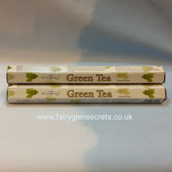 Green Tea Incense Sticks