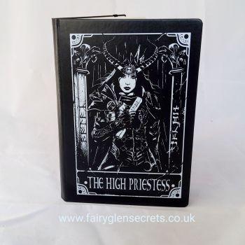 A5 Deadly Tarot The High Priestess Black Journal