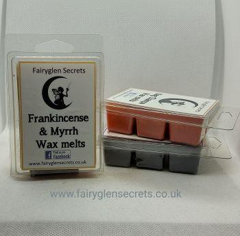 """Frankincense & Myrrh"" Fragranced Wax Melts"