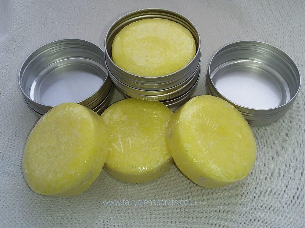 Lemon & Ginger Solid Shampoo Bar