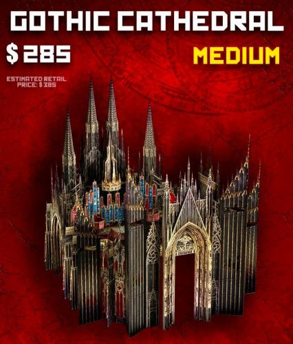 MEDIUM Cathedral (M) - Late Pledge