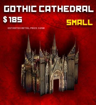 SMALL Cathedral (S) - Late Pledge