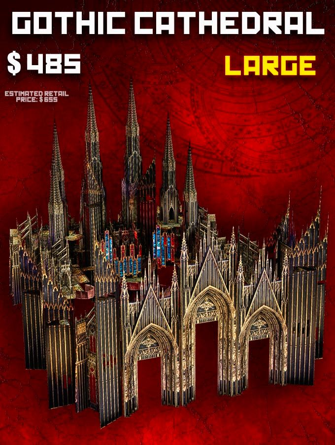 LARGE Cathedral (L) - Late Pledge