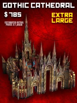 EXTRA LARGE Cathedral (XL) - Late Pledge