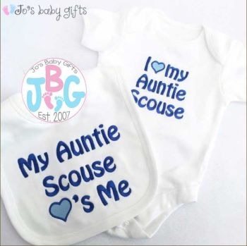 Personalised vest & bib set