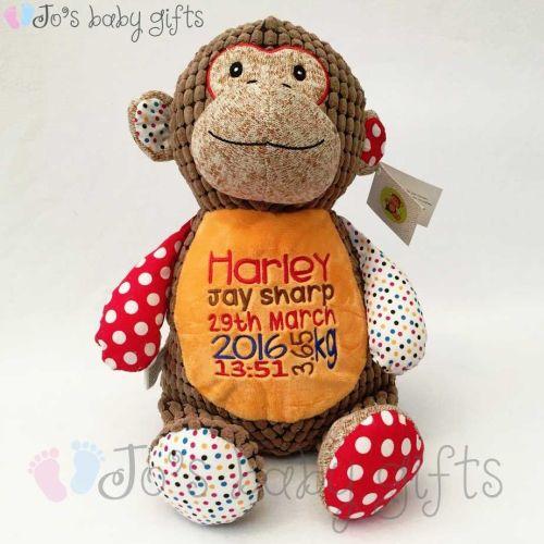 Huggles Brown Monkey