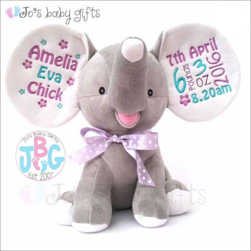 Grey Dumble Cubby Teddy