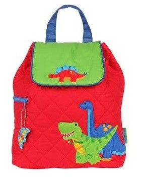 Personalised Red Dinosaur Bag