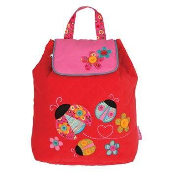 Personalised red lady bird bag