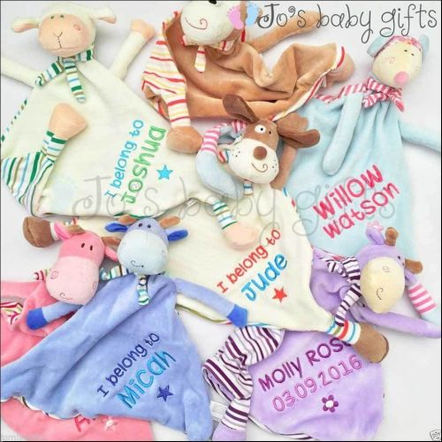 Personalised Cubby Comforter