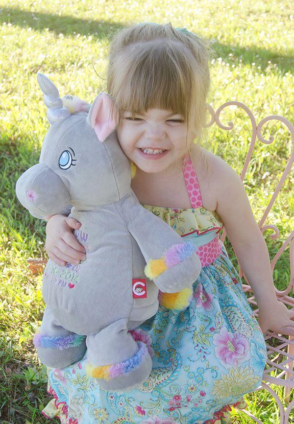Starflower Cubby Grey Unicorn