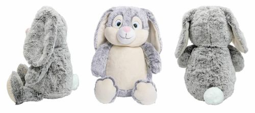 NEW Grey Cubby Bunny