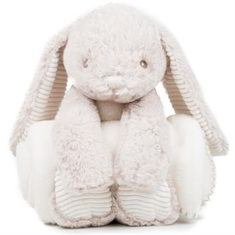 Bunny and blanket set - Personalised