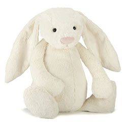 Jellycat Personalised Cream Bunny Rabbit