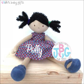 Personalised girls rag doll - Clara