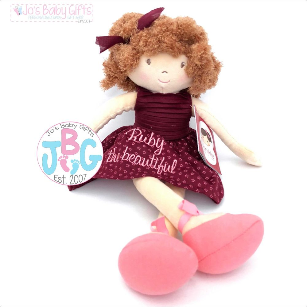 Personalised girls rag doll - Sophie