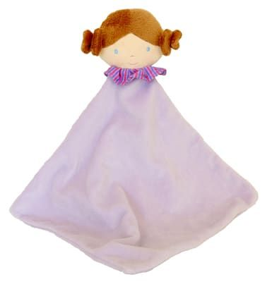Lilac Doll Baby Comforter