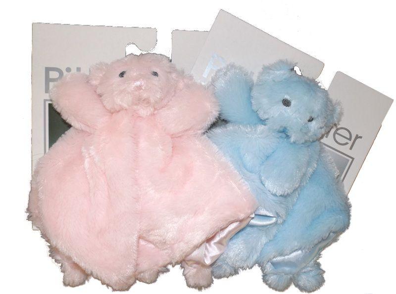 Pink or Blue mini fluffy comforter