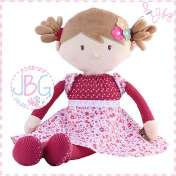 Scarlett - Personalised Rag Doll
