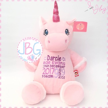 Starflower Cubby Pink Unicorn