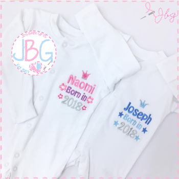 Personalised Sleepsuit 2017/2018