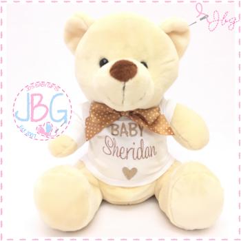 Personalised Unisex Teddy Bear