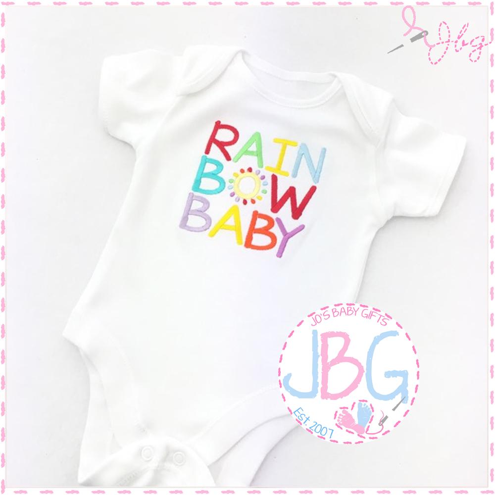 Rainbow Baby vest