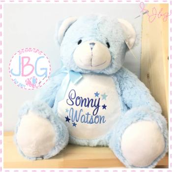 Blue Mumbles Teddy