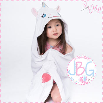 Aurora the Unicorn Cubbies Hooded Towel