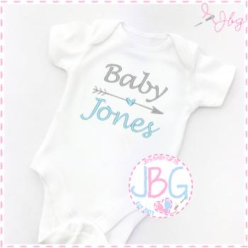 Personalised Baby Unisex vest