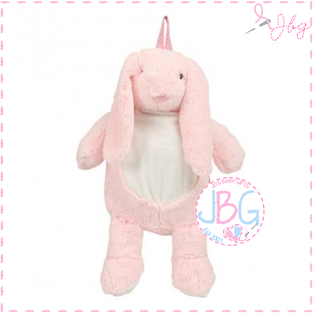 Soft Mumbles Bunny Backpack in Pink