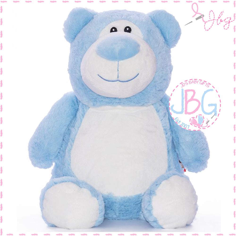Cubbyford Blue Cubby Bear