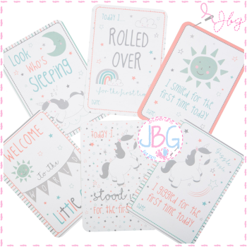 Set of 16 Baby Milestone Cards