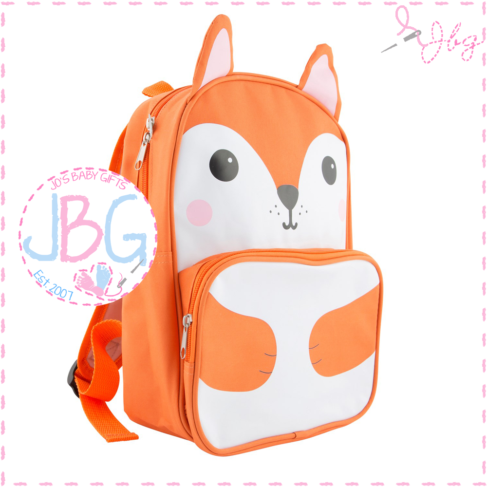 Personalised Fox Backpack