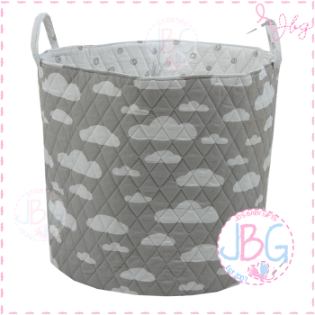 Grey Clouds Storage Bag