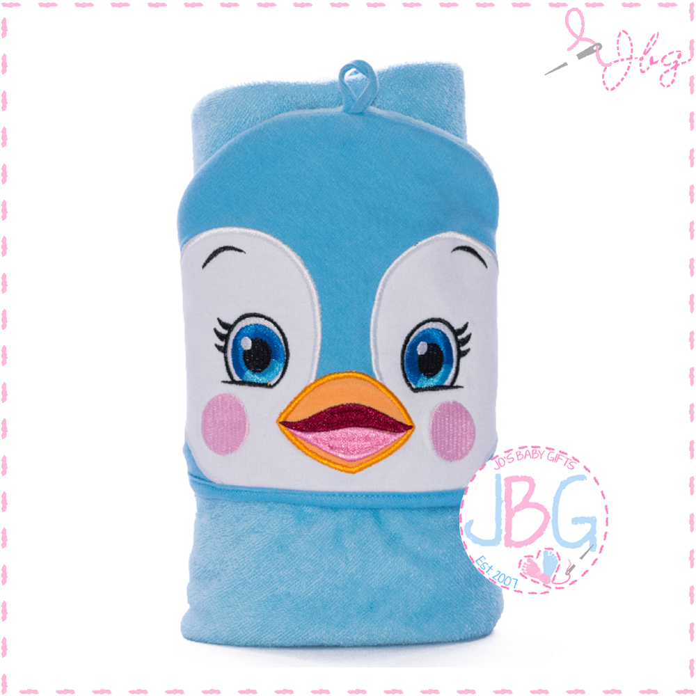 Puddles the Penguin Cubbies Hooded Towel