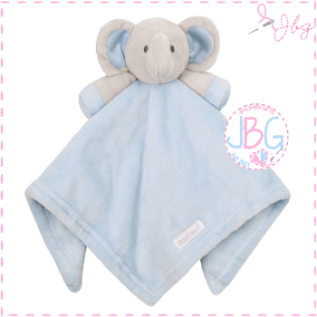 Personalised Elephant Comforter in Blue