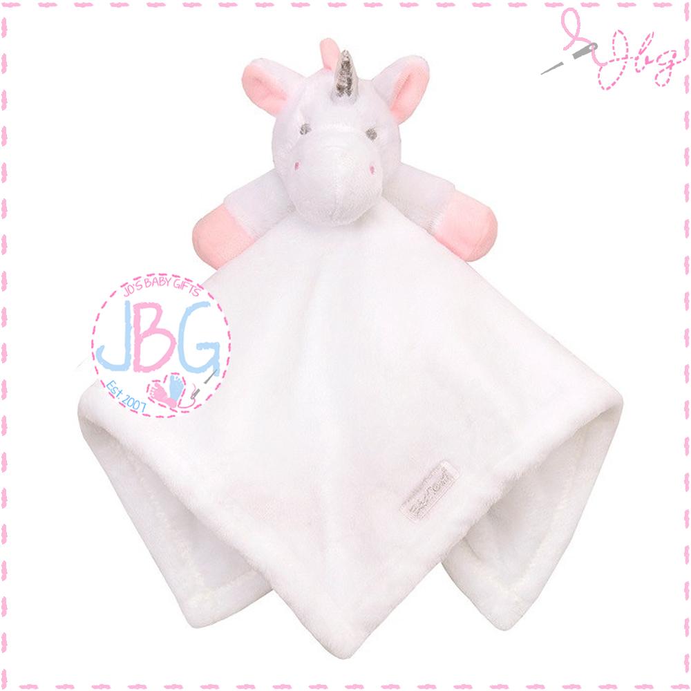 Personalised Unicorn Comforter in White
