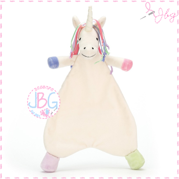 Jellycat Rainbow Unicorn Lollopylou Personalised Soother