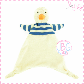 Jellycat Bredita Duck Personalised Soother