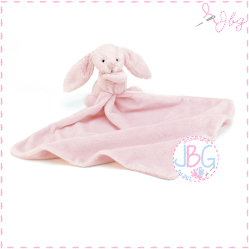 Jellycat Bashful Pink Bunny Personalised Soother