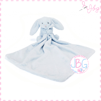 Jellycat Bashful Blue Bunny Personalised Soother