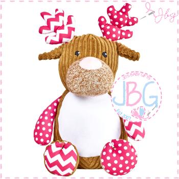 Cupcake Cubby Pink Deer