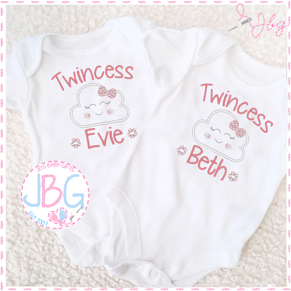 Personalised Vests for Twins