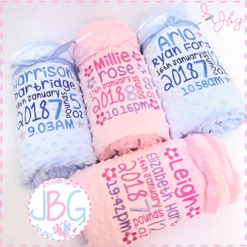 Personalised Bubble Blanket - Full Details
