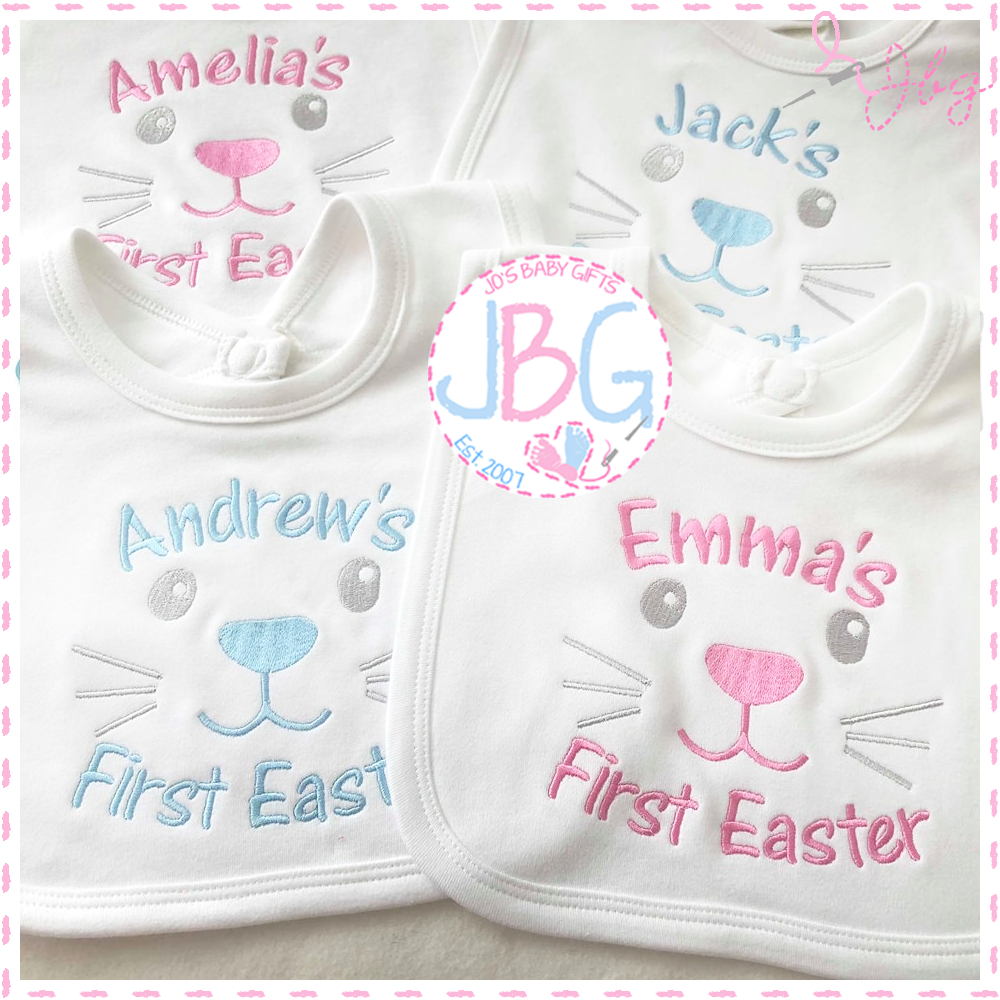 First Easter Personalised Bib