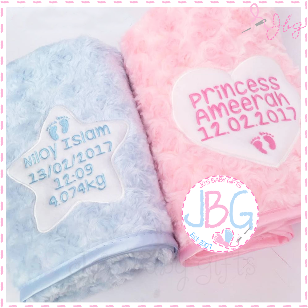 Personalised Fluffy Blanket