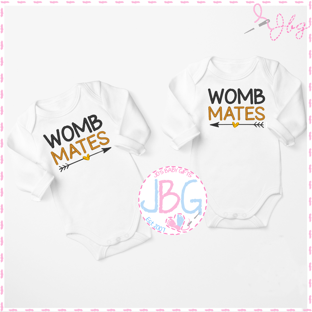 Vests for Twins - Womb mates