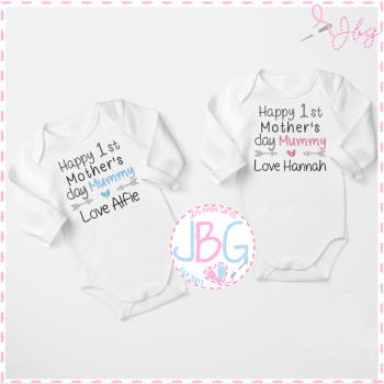 Personalised Vest For 1st Mother's Day